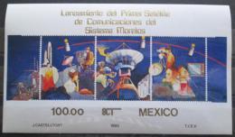 Poštovní známky Mexiko 1985 Telekomunikace Mi# Block 29