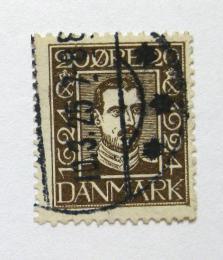 Poštovní známka Dánsko 1924 Král Christian X Mi# 139
