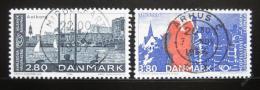 Poštovní známky Dánsko 1986 Sesterská mìsta Mi# 868-69