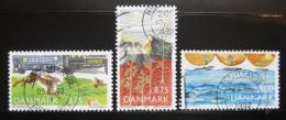Poštovní známky Dánsko 1992 Ochrana pøírody Mi# 1032-34