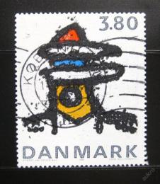 Poštovní známka Dánsko 1985 Umìní, Robert Jacobsen Mi# 852