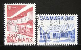 Poštovní známky Dánsko 1987 Evropa CEPT Mi# 895-96