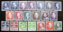 Poštovní známky Dánsko 1990-98 Rúzné motivy SC# 883-89, 891-94, 896-97,899-901, 903-06