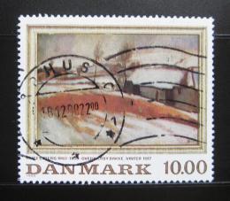 Poštovní známka Dánsko 1988 Umìní, F. Syberg Mi# 933