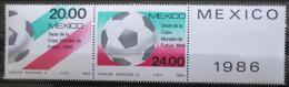Poštovní známky Mexiko 1984 MS ve fotbale Mi# 1919-20