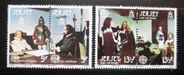 Poštovní známky Jersey 1980 Evropa CEPT Mi# 219-22