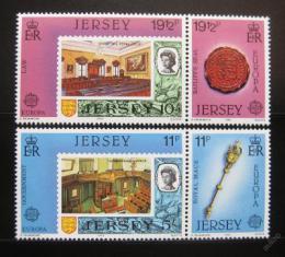Poštovní známky Jersey 1983 Evropa CEPT Mi# 299-302