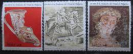 Poštovní známky Mexiko 1981 Bulharské umìní Mi# 1758-60