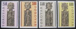 Poštovní známky Faerské ostrovy 1984 Náboženské umìní Mi# 93-96