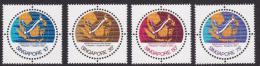 Poštovní známky Singapur 1978 Podmoøský kabel Mi# 310-13