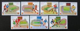Poštovní známky Guinea 1982 MS ve fotbale Mi# 913-19