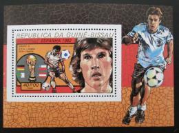 Poštovní známka Guinea-Bissau 1982 MS ve fotbale Mi# Block 228 A