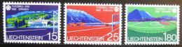 Poštovní známky Lichtenštejnsko 1982 MS ve fotbale Mi# 799-801
