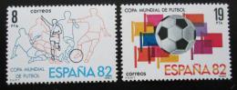 Poštovní známky Španìlsko 1980 MS ve fotbale Mi# 2462-63