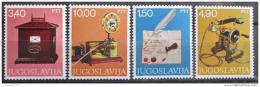 Poštovní známky Jugoslávie 1978 Poštovní muzeum Mi# 1716-19