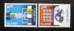 Poštovní známky Island 1988 Evropa CEPT Mi# 682-83