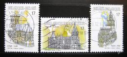 Poštovní známky Belgie 1997 Kostely Mi# 2763-65
