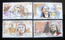 Poštovní známky Belgie 1997 Operní pìvci Mi# 2740-43