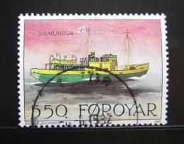 Poštovní známka Faerské ostrovy 1992 Poštovní loï Mi# 229