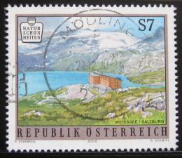 Poštovní známka Rakousko 2000 Ledovec Sonnblick Mi# 2310