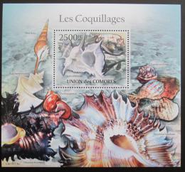 Poštovní známka Komory 2011 Mušle Mi# Block 616 Kat 13€