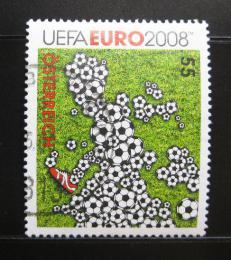 Poštovní známka Rakousko 2008 ME ve fotbale Mi# 2709