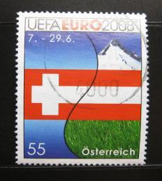 Poštovní známka Rakousko 2008 ME ve fotbale Mi# 2726