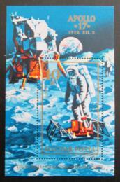 Poštovní známka Maïarsko 1973 Mise Apollo 17 Mi# Block 94 A