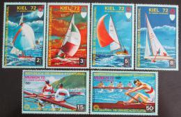 Poštovní známky Rovníková Guinea 1972 LOH Mnichov Mi# 98-104
