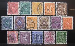 Poštovní známky Nìmecko 1922 Rùzné motivy, nekompl. Kat 50€