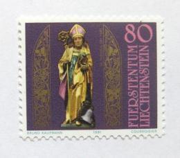 Poštovní známka Lichtenštejnsko 1981 Svatý Theodol Mi# 775