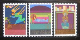 Poštovní známky Lichtenštejnsko 1980 Vánoce Mi# 761-63