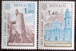 Poštovní známky Monako 1977 Evropa CEPT Mi# 1273-74
