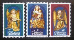 Poštovní známky Lichtenštejnsko 1982 Vánoce Mi# 813-15