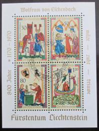 Poštovní známky Lichtenštejnsko 1970 Minesingøi Mi# Block 8