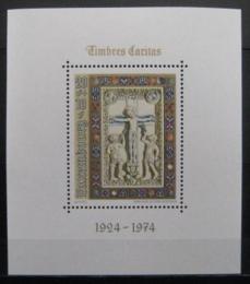 Poštovní známka Lucembursko 1974 Ukøižování Krista Mi# Block 9