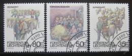 Poštovní známky Lichtenštejnsko 1989 Zvyky Mi# 971-73