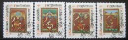 Poštovní známky Lichtenštejnsko 1987 Vánoce Mi# 930-33