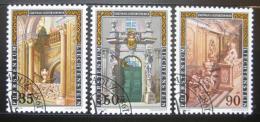 Poštovní známky Lichtenštejnsko 1987 Lichtenštejnský palác Mi# 925-27