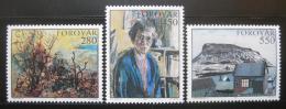 Poštovní známky Faerské ostrovy 1985 Umìní Mi# 118-20