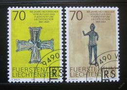 Poštovní známky Lichtenštejnsko 2001 Umìní Mi# 1266-67