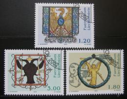 Poštovní známky Lichtenštejnsko 2002 Stará hostinská znaèení Mi# 1307-09