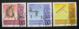 Poštovní známky Lichtenštejnsko 2001 Tradièní umìní Mi# 1278-80