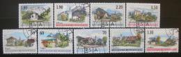 Poštovní známky Lichtenštejnsko 2000-01 Umìní, vesnice Mi# 1229-33,1262-65 Kat 35€