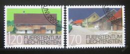 Poštovní známky Lichtenštejnsko 2002 Ochrana budov Mi# 1294-95