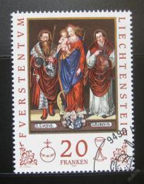 Poštovní známky Lichtenštejnsko 1997 Umìní, Gabriel Dreher Mi# 1151 Kat 24€