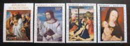 Poštovní známky Burkina Faso 1967 Umìní Mi# 222-25