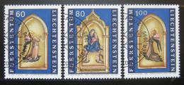 Poštovní známky Lichtenštejnsko 1995 Umìní, Lorenzo Monaco Mi# 1120-22