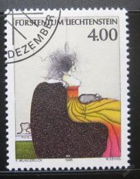 Poštovní známka Lichtenštejnsko 1995 Umìní, Paul Wunderlich Mi# 1123