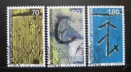 Poštovní známky Lichtenštejnsko 1999 Identifikaèní znaèky Mi# 1220-22